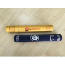 Scroll with hot stamping logo and songket